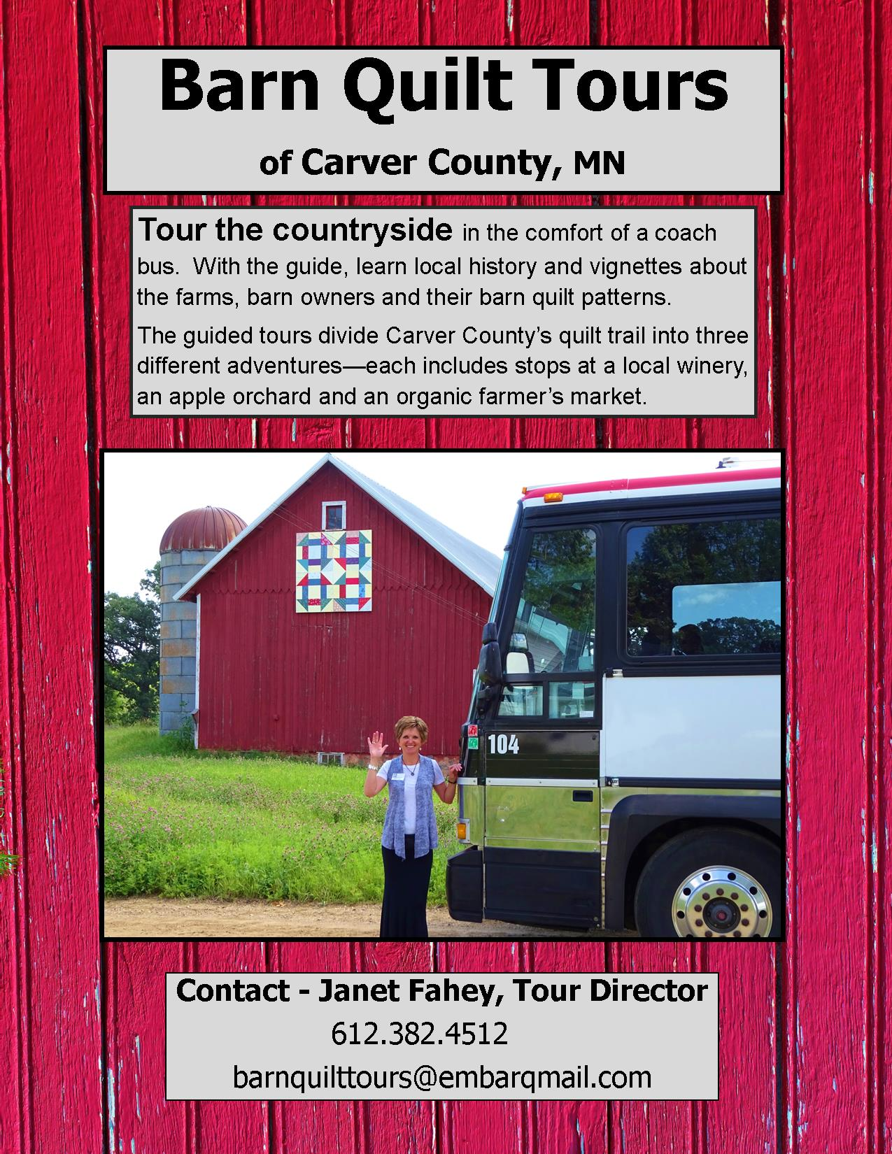 Barn Quilt Tours - Arts Consortium of Carver County