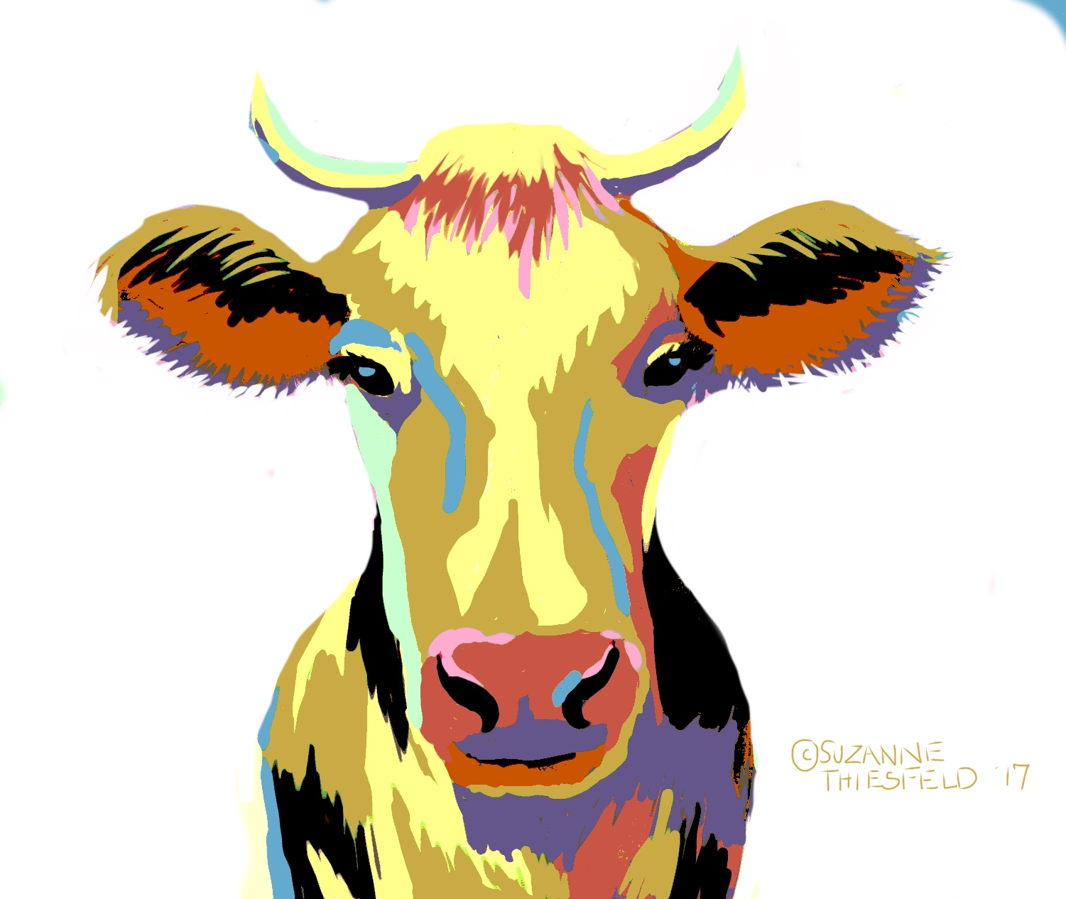Crazy Cow Acrylic Painting Class