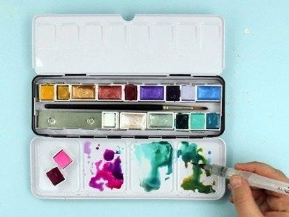 Watercolor Class by Anne Krocak
